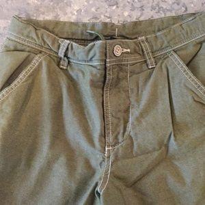 Green Gap shorts!